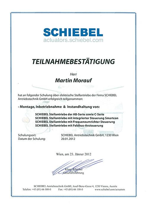 Zertifikat 16