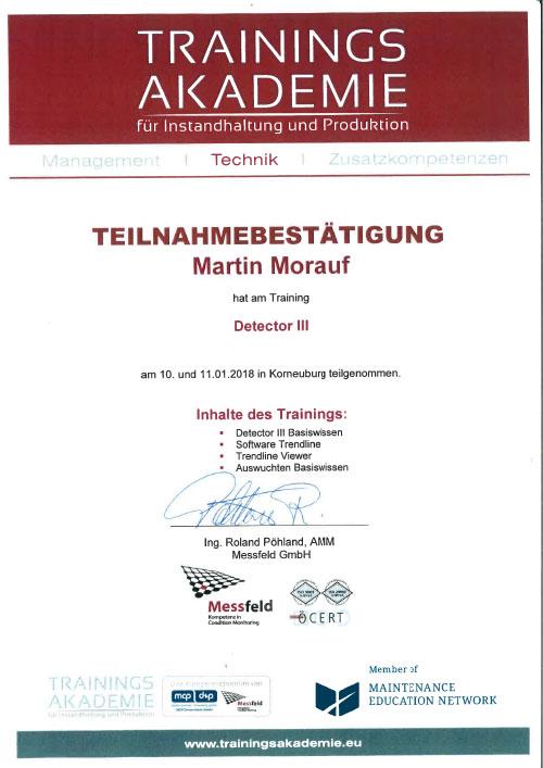 Morauf Martin TB Messfeld