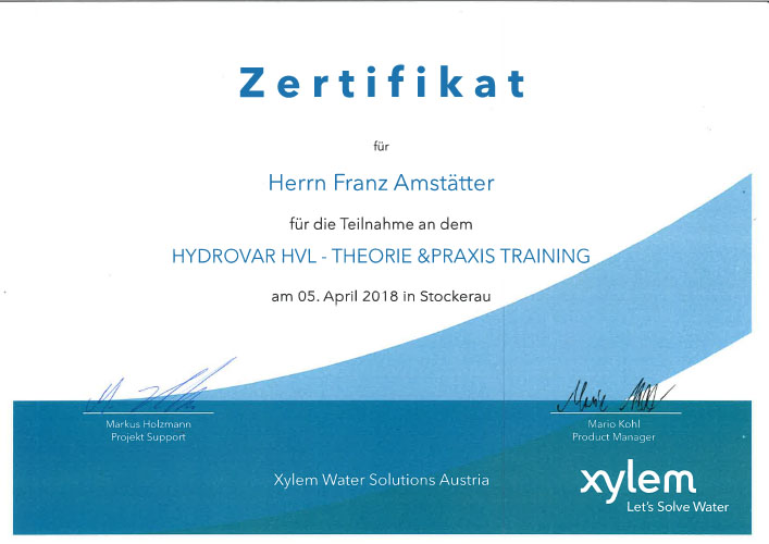 Xylem_Hydrovar_HVL_Training_Amstätter